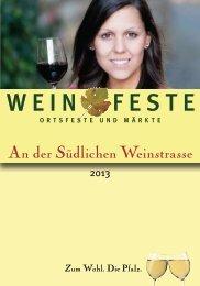 Weinfestkalender - Garten Eden Pfalz