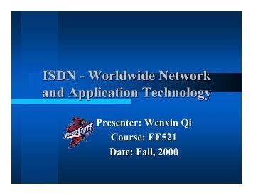 ISDN - Iowa State University