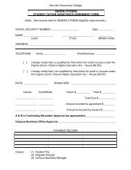 Senior Citizens Student Tuition Assistance Agreement Form