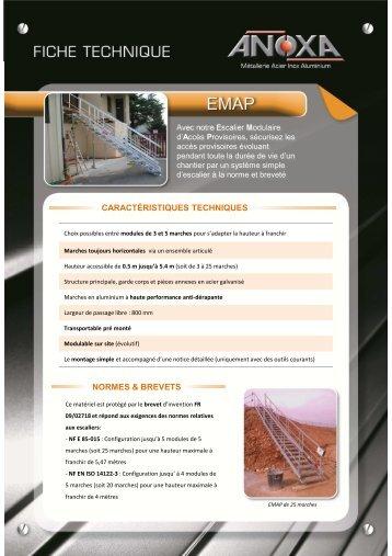 Fiche technique Escalier Modulaire d'Accès Provisoires ... - dthX