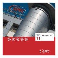 Pobierz raport roczny GPEC 2011 - Gdańskie Przedsiębiorstwo ...
