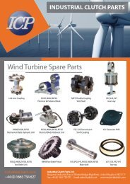 Wind Turbine Spare Parts - Industrial Clutch Parts Limited
