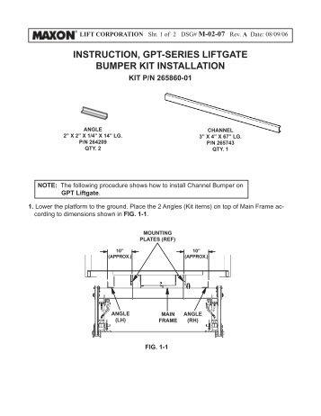 Waltco Liftgate Hydraulic Pump Wiring Diagram. Leyman Liftgate ... on