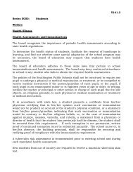 Health/Illness - Southington Public Schools