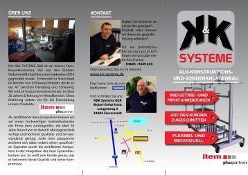 produkte - K & K-Systeme