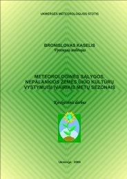 PDF 4 MB - Lietuvos hidrometeorologijos tarnyba