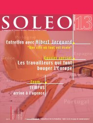 Soleo 13 - Agence Europe-Education-Formation France