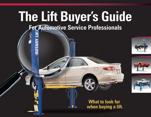 For Automotive Service Professionals - Rotary Lift