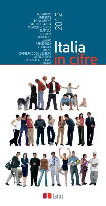 Italia in cifre 2012 - Cultura in Cifre - Istat