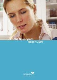 The Novozymes Report 2005