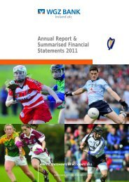 Annual Report & Summarised Financial Statements 2011 - WGZ Bank