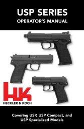USP SerieS - Heckler & Koch USA