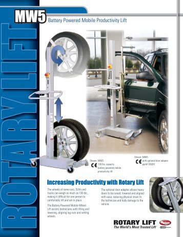 increasing Productivity with Rotary lift