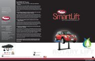 THE WORLD'S MOST TRUSTED LIFT - Rotary Lift