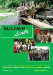 Gemeindezeitung 2/09 - Gemeinde Sulz