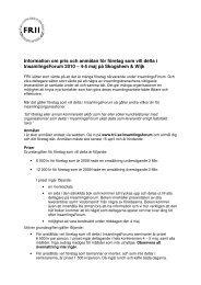 Information om pris och anmälan för företag som vill delta i ...