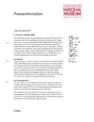 Pressetext des Germanischen Nationalmuseums zur Ausstellung