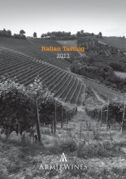 Italian trade tasting more spacing.indd - Armit Wines