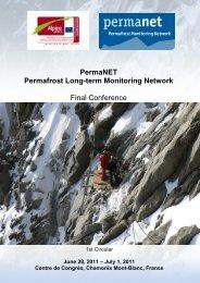 PermaNET Final Conference - Planat