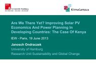 Improving Solar PV Economics And Power Planning In Developing ...