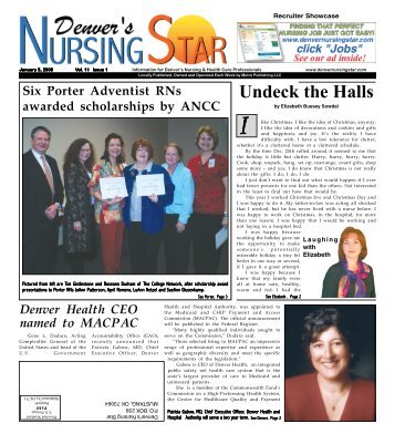 Undeck the Halls - Denver's Nursing Star