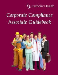 to download the Associate Guidebook. - Catholic Health System