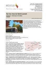 Sur les rives du Saint-Laurent - Arts et Vie