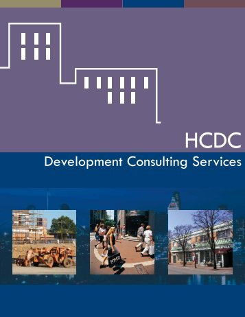 Consulting Services Brochure - HCDC