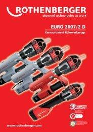 Rohr- und Installationswerkzeuge - Rothenberger