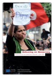 Delivering on Democracy - Capacity4Dev - Europa