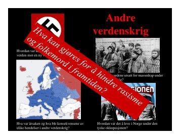 Andre verdenskrig - Linksidene