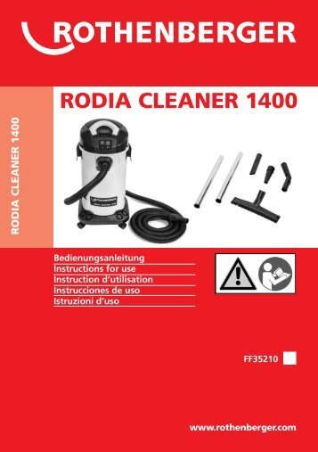 rodia cleaner 1400 - Rothenberger