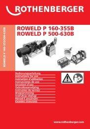 BA Umschlag ROWELD P160-630B Paket K-0810.cdr - Rothenberger