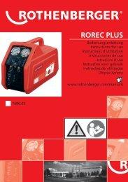 ROREC PLUS - Rothenberger