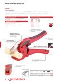 Kunststoffrohr-Abstech- und Anfasgeräte - Rothenberger - Seite 3