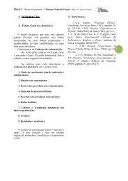1 INTRODUÇÃO: Forma Geral dos Relatórios É muito desejável que ...