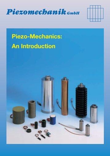 231575 Piezo-Mechanics GB