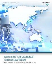 HKCS1 Technical Spec Brochure - Pacnet Hong Kong