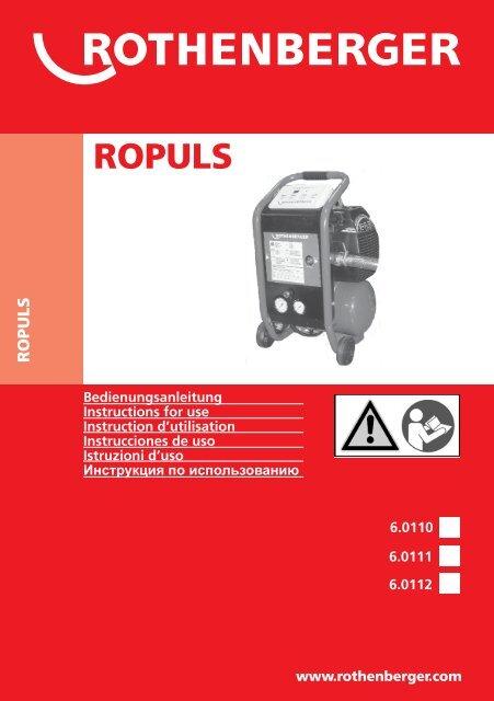 BA ROPULS Umschlag 1110.cdr - Rothenberger
