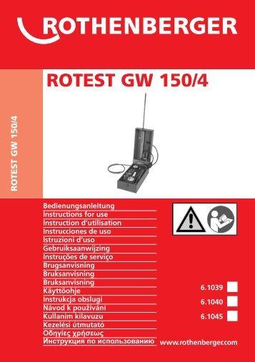 BA ROTEST GW 150-4 Umschlag Paket C 0309.cdr - nexMart