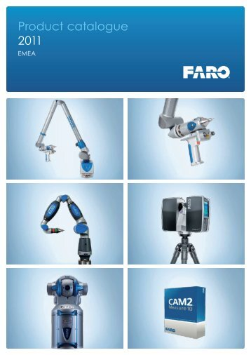 Product catalogue 2011 - Faro