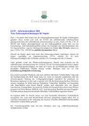 Informationsdienst 2004 Neue Zulassungsbestimmungen für Stapler