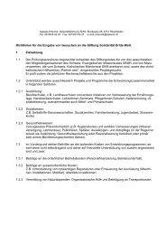 Richtlinien PA, SDW15.4.02 - Solidarität Dritte Welt