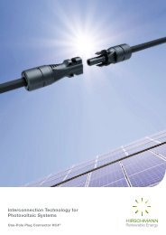 Interconnection Technology for Photovoltaic Systems