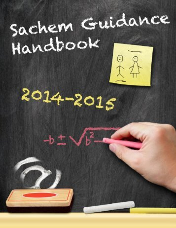 2013-2014 Guidance Handbook - Sachem Home Page