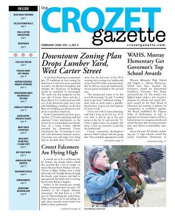 Downtown Zoning Plan Drops Lumber Yard, West ... - Crozet Gazette