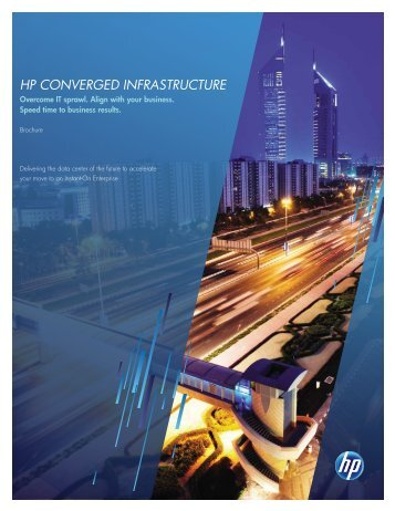 HP Converged Infrastructure Brochure - Altea