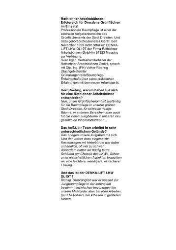 Grünfl.DD.Interv.PR l.+k.1001 - Rothlehner Arbeitsbühnen