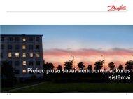 Danfoss piedāvātie ēku viencauruļu apkures sistēmu renovācijas ...