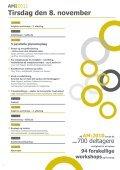 Arbejdsmiljøkonferencen 2011 - Arbejdsmiljørådgiverne - Page 4